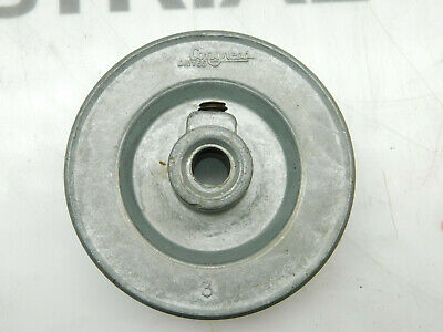 Congress Drives Ca0300x037 3lc07 38 Fixed Bore 1 Groove V-belt Pulley