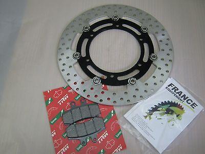 MZ Baghira 660 Bremsscheibe vorn mit Bremsbelag und Schrauben für Bremsscheibe