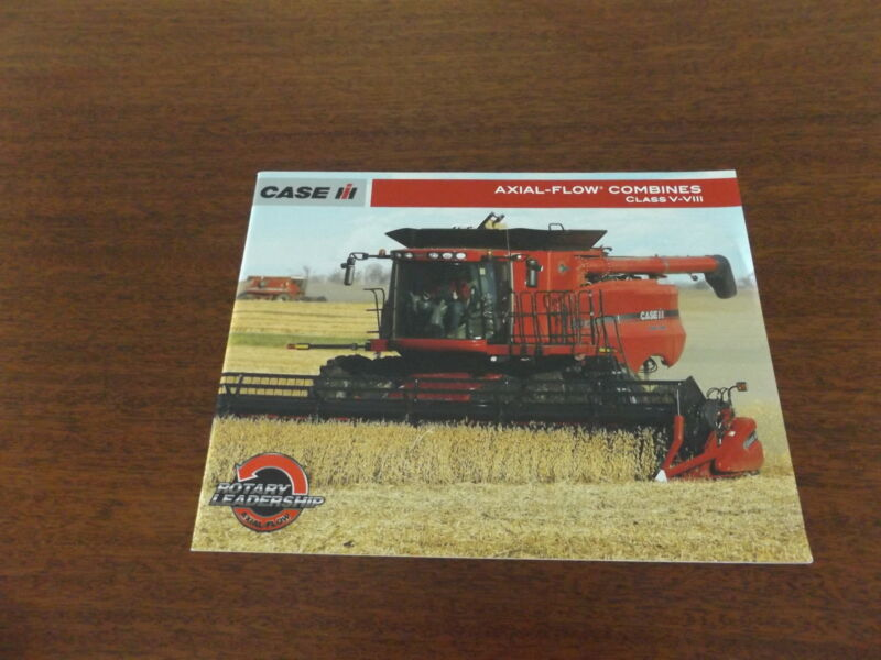 CASE-IH  AXIAL-FLOW  COMBINES Class V-VIII