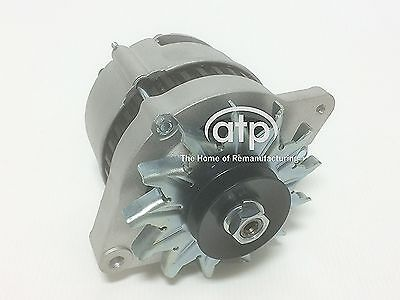 NEW CANAL BOAT ALTERNATOR HIGH OUTPUT 75 AMP A127 2 POINT FIX DUAL TERMINATION