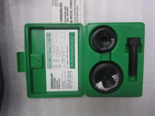 """Greenlee 737 1½"""" & 2"""", 1.5"""" & 2"""" Conduit Knockout Punch, New"""