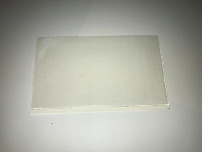 QTY 100 PERMIT / TAX DISC HOLDERS REF CLEAR - SIZE 134 MM X 77 MM APROX
