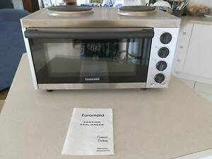 AS NEW Euro-Maid Bench-top Oven & hot plates suit caravan/unit Sandstone Point Caboolture Area Preview