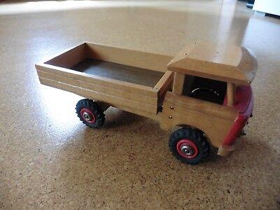 Alter    DDR  Holz Lastwagen / Kipper LKW