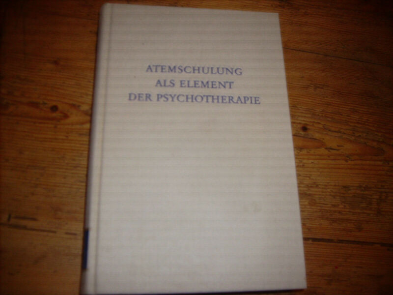 Atemschulung als Element der Psychotherapie. | Buch | Zustand gut