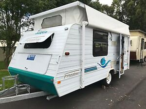 2003 Jayco Freedom Poptop - ISLAND DOUBLE BED - Rollout Awning Warragul Baw Baw Area Preview