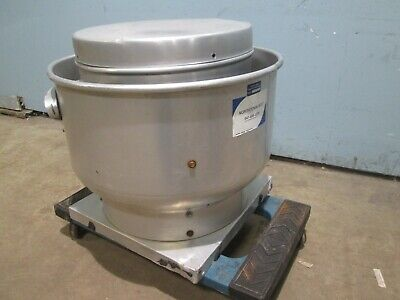 Greenheck Heavy Duty Commercial Hp 115v 1ph Direct Drive Roof Top Exhaust Fan