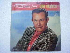 JIM-REEVES-GENTLEMAN-JIM-1st-Press-RARE-LP-record-vinyl-INDIA-INDIAN-VG