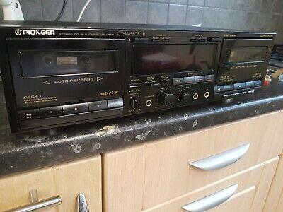 Pioneer Ct-w 650 r Stereo Cassette  recorder segunda mano  Embacar hacia Mexico