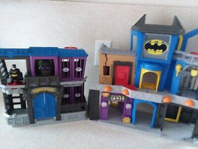Fisher-price Imaginext DC Super Friends Batcave Gotham City Jail Batman Bane lot