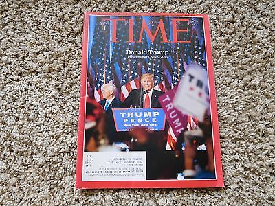 TIME MAGAZINE - PRESIDENT DONALD TRUMP 2016 ELECTION