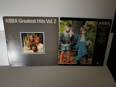 LOT OF 2 ABBA GREATEST HITS ALBUMS VINYL LPS