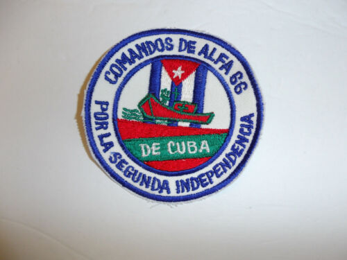 a0356 Commandos De Alfa 66 Por La Segunda 2506 Brigade Bay of Pigs Cuba R17E