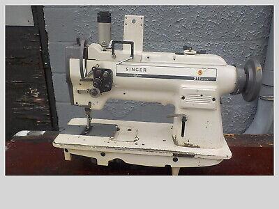 Industrial Sewing Machine Model Singer 211-a112k Single Walking Foot-r- Leather
