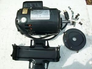 Sears craftsman 1 hp capacitor start ac electric motor for Electric motor for bandsaw
