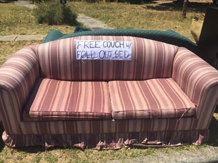 FREE COUCH W/ FOLD OUT BED
