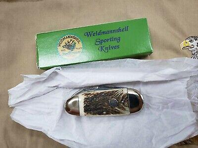 weidmannsheil AAA +++ stag sun fish sporting knife