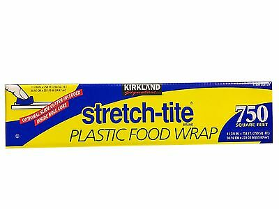 Kirkland Signature Stretch-Tite Plastic Food Wrap 750 Sq Ft