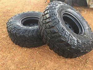 35x12.5 r15 on -44 rims mickey Thompson ttc claws Geraldton Geraldton City Preview