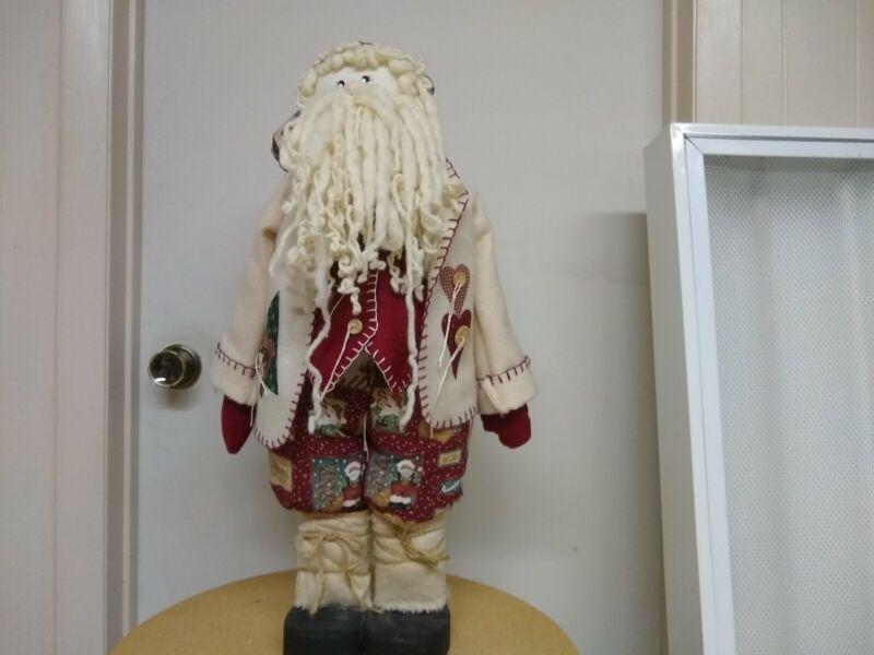 Handmade santa claus