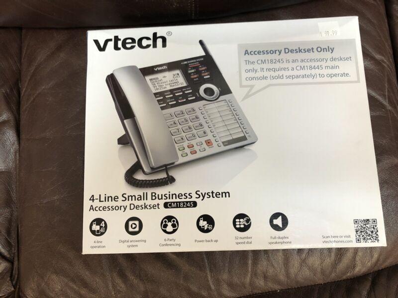 VTech CM18245 Extension Deskset - Silver