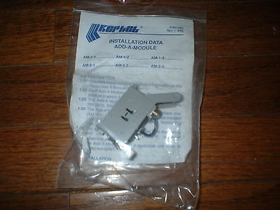Vintage Bell System Keptel  Installation Data Add A Module 41093 1980S 1988