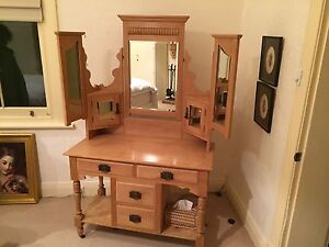 Antique Pine Duchess Dressing Table Mount Compass Alexandrina Area Preview