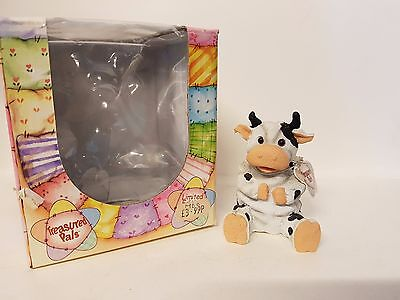 Moo, Cow #5053 Treasured Pals Limited Edition Collectable Boxed