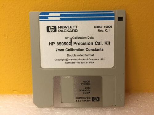 HP / Agilent 85050-10006 Rev: C-1, HP 85050C Cal Kit, 7mm Cal Constants Disk