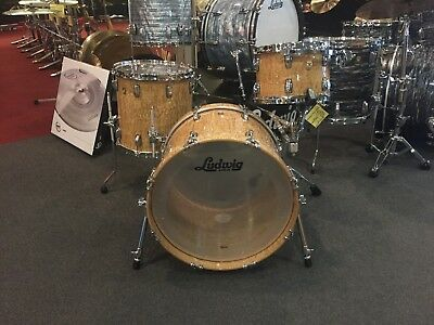 (Ludwig LTD Edition Classic Maple Aged Exotic Tamo Ash Downbeat Kit (12,14,20))