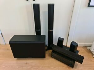 Yamaha Receiver with full 5.1 Wharfedale Surround Sound System