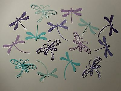 15 dragonflies  scrapbooking die cuts dragonfly