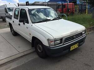 1999 Toyota Hilux Ute/DUAL CAB/MANUAL Smithfield Parramatta Area Preview