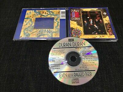 DURAN DURAN - SEVEN AND THE RAGGED TIGER      CDP 7 46015 2  RARE