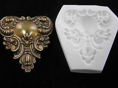 Fleur De Lis Polymer Clay Push Mold (#MD1065)