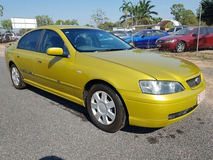 2002 Ford Falcon XT Holtze Litchfield Area Preview
