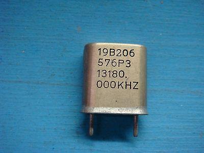 1 Ge 19b206576p3 13180.000khz Vhf Lo-band Crystal Oscillator Vintage Audio