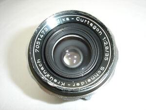 Schneider Kreuznach Edixa Curtagon 35mm f 2.8 Lens , M42 Screw  Mount SN7051473