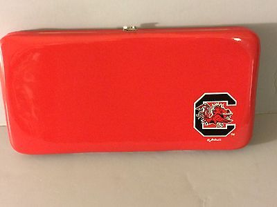 (South Carolina Gamecocks Clutch Purse Wallet PVC NCAA Officially Licensed)