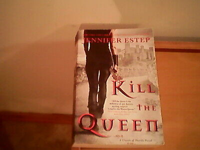 Author Jennifer Estep, paper back Kill the Queen, fiction, NY Times best
