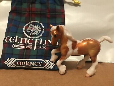 Breyerfest 2020 Single day Stablemate Orkney Breyer Model Horse Glossy 4