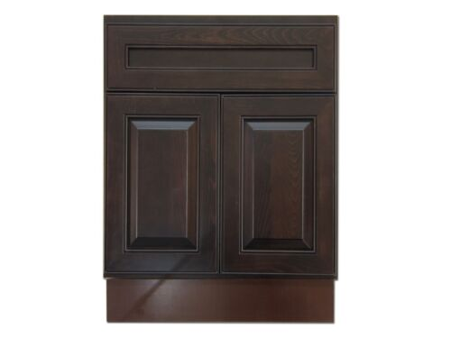 24-inch Vanity Cabinet Expresso Traditional