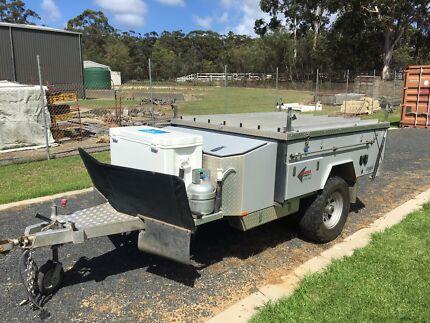 Pioneer Argyle camper trailer.