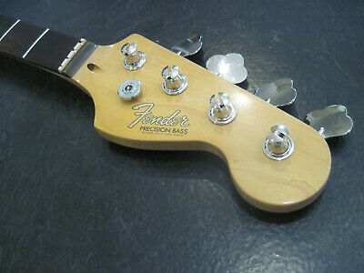 Fender Squier P Bass Neck, 2019 with Jazz Dimensions  Nice! Free Ship! New Decal