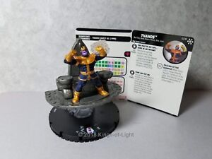 Thanos - G018 Marvel Avengers Infinity HeroClix Miniature Rare Colossal