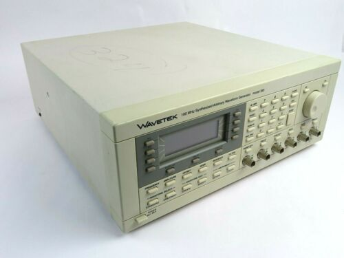 Wavetek Model 395 100MHz Synthesized Arbitrary Waveform Generator