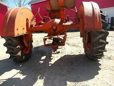 Unstyled Ac Wc Tractor Original Allis Chalmers Set Pair Of Fenders
