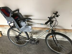 Mountain Bicycle with child carrier (toddler seat)