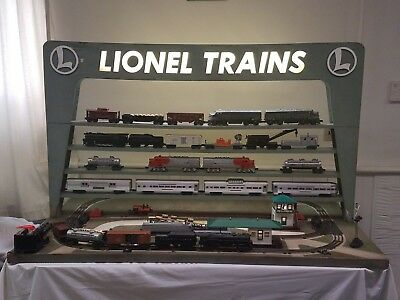 RARE Original Lionel 1955 D-133 Dealer Display Layout! All Accessories Work!