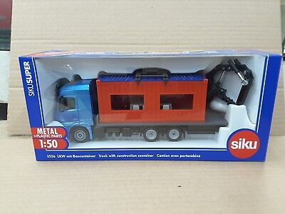 Siku 1/50 Die Cast Track with Construction Container](Construction Containers)